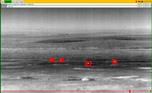 Automated detection of prairie dog-sized object at 500m using the LRISN thermal camera